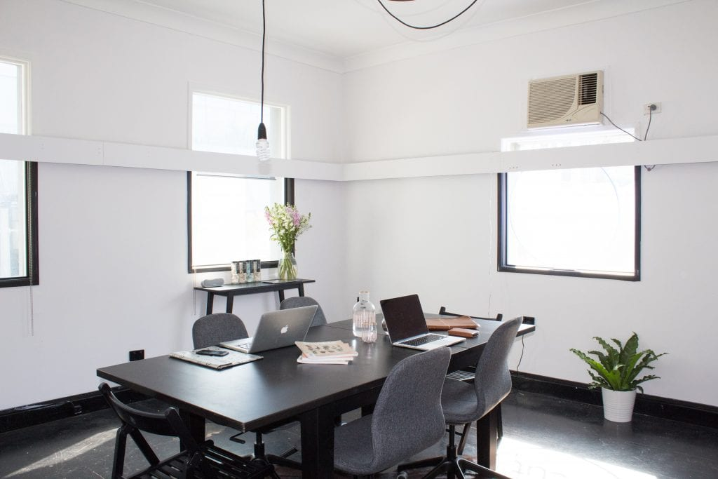 Small White Meeting Room